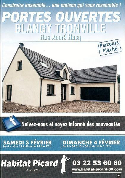 Portes Ouvertes à Blangy Tronville (80) les 3 et 4 Février 2018