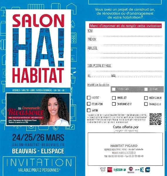 SALON DE L'HABITAT DE BEAUVAIS Oise (60000)