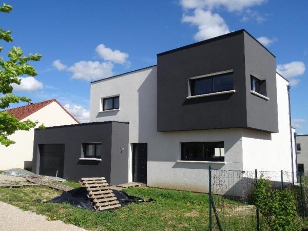 Nouvelle réalisation Amiens Maison cubique contemporaine