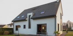 Construction HABITAT PICARD ossature bois à Vers sur Selle (80)
