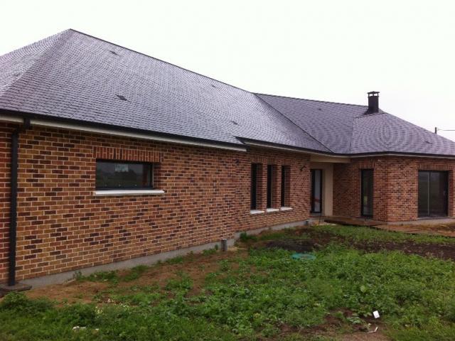 Construction HABITAT PICARD en brique à Dompierre Becquincourt (80)