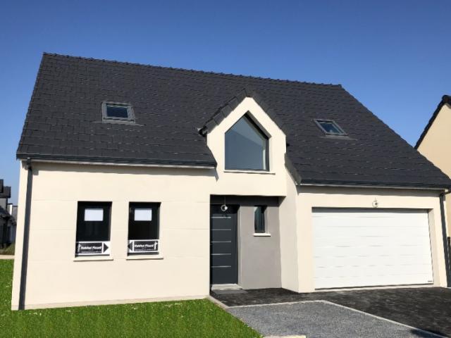 Construction HABITAT PICARD sur vide sanitaire et garage à Vers sur Selle (80)