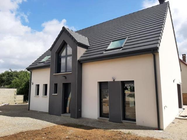 Construction HABITAT PICARD sur vide sanitaire, combles aménagés à Villers Bretonneux (80)