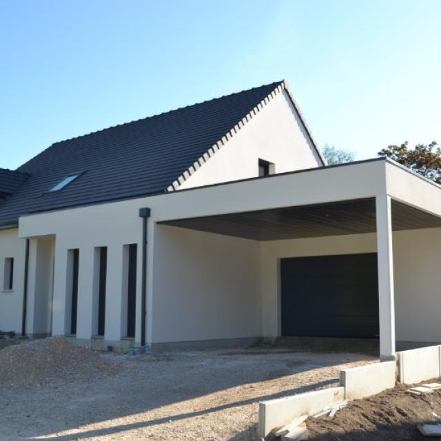 Construction HABITAT PICARD sur vide sanitaire à Saint Fuscien (80)
